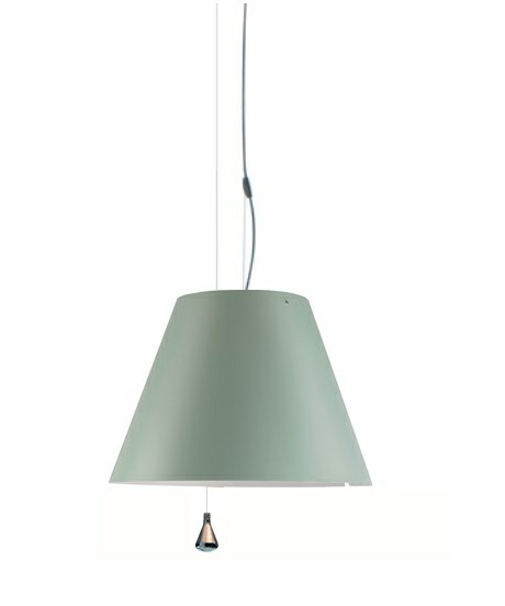 Costanza Taklampa Up/Down Comfort Green - Luceplan