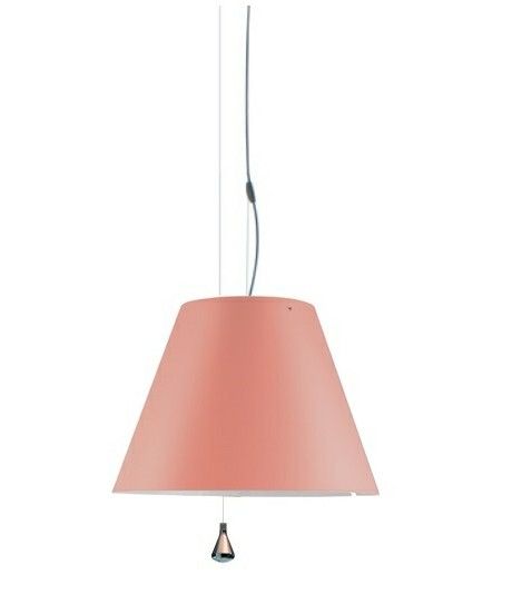 Costanza Taklampa Up/Down Edgy Rosa - Luceplan