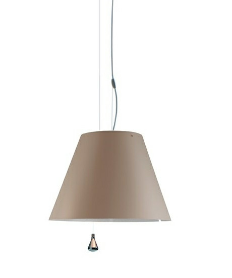 Costanza Taklampa Up/Down Shaded Stone - Luceplan