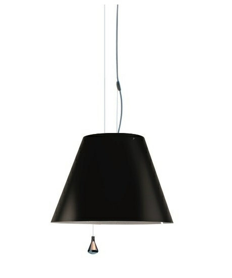 Costanza Pendel Up/Down Liquorice Black - Luceplan