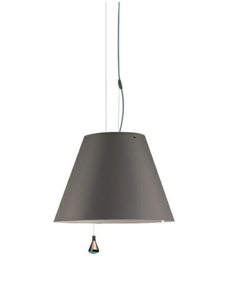 Costanza Taklampa Up/Down Concrete Grey - Luceplan