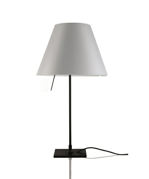 Costanzina Bordlampe Sort/Mistic White - Luceplan