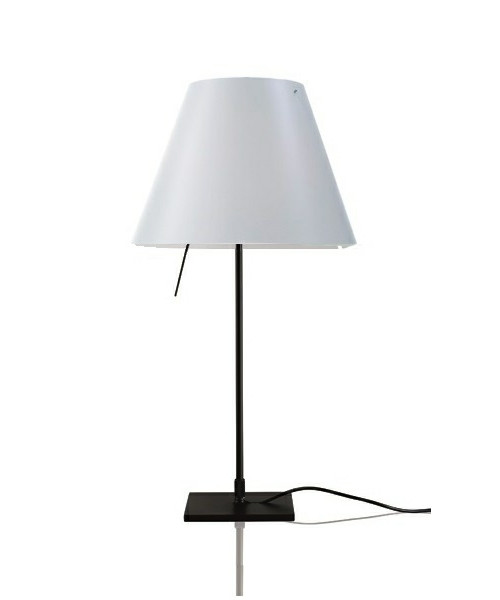 Costanzina Bordlampe Sort/White - Luceplan