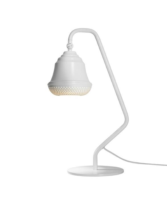 Bellis 160 Bordlampe Hvid - Design By Us