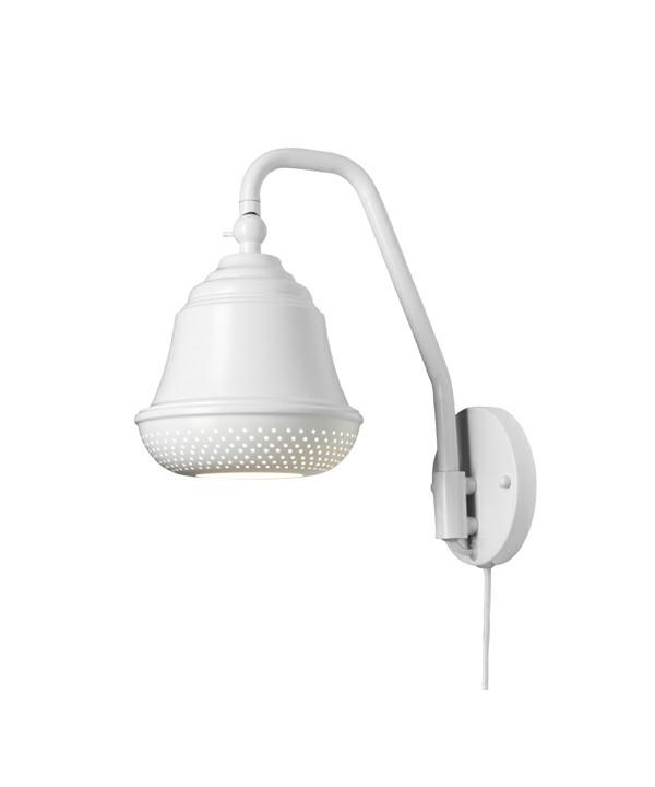 Bellis 160 Væglampe Hvid - Design By Us