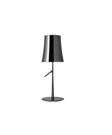 Birdie Grande Metal Bordlampe Sort Krom - Foscarini