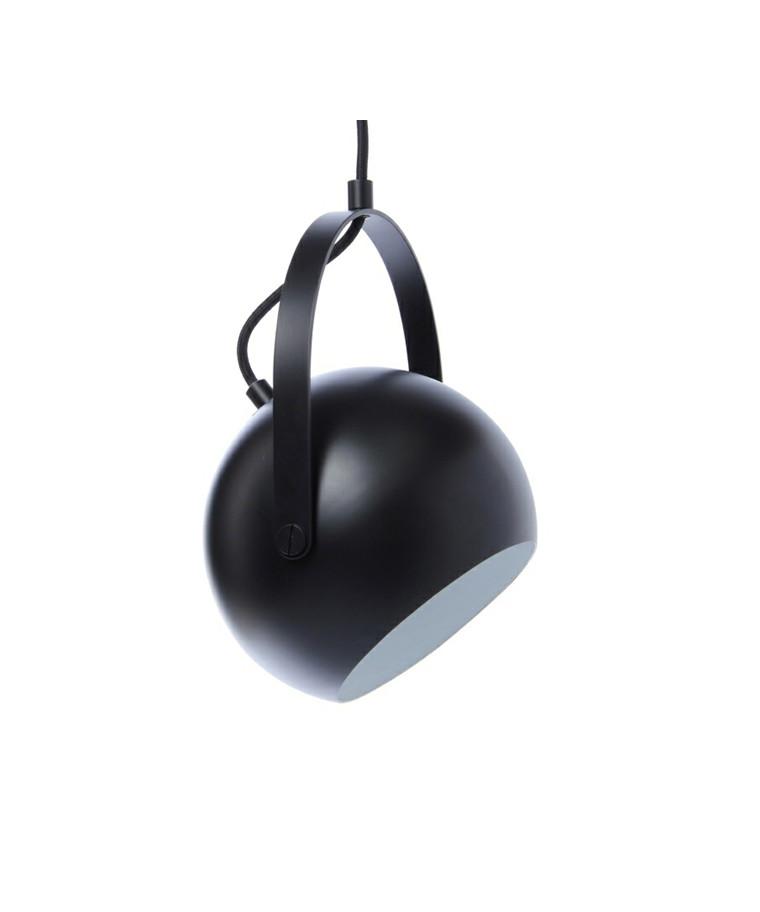 Ball Pendel w/Handle Ø18 Mat Sort - Frandsen