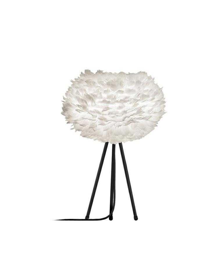 Eos Bordlampe Medium Hvid/Sort - Vita