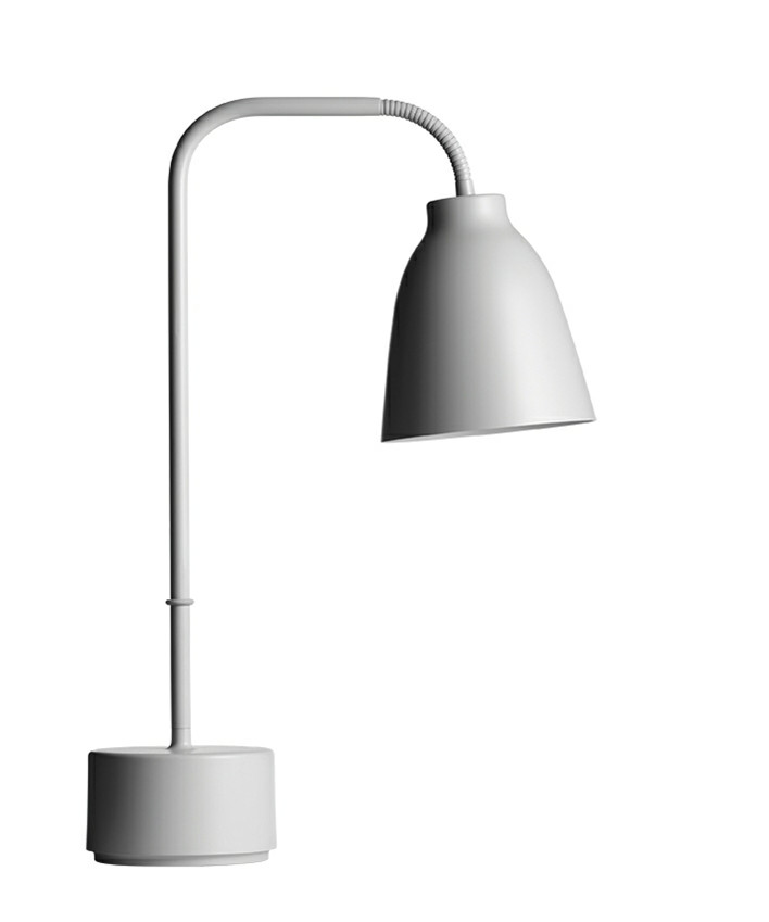 Caravaggio Read Bordlampe Lys Grå - Lightyears