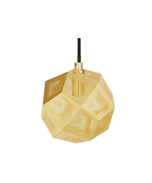 Etch Mini Taklampa Mässing - Tom Dixon