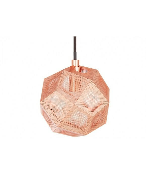 Etch Mini Taklampa Koppar - Tom Dixon