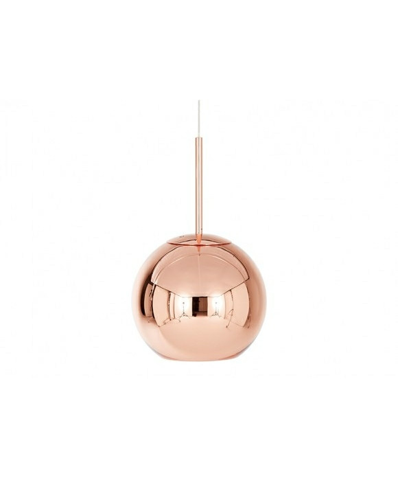 Copper Shade Pendel Rund Ø25 - Tom Dixon