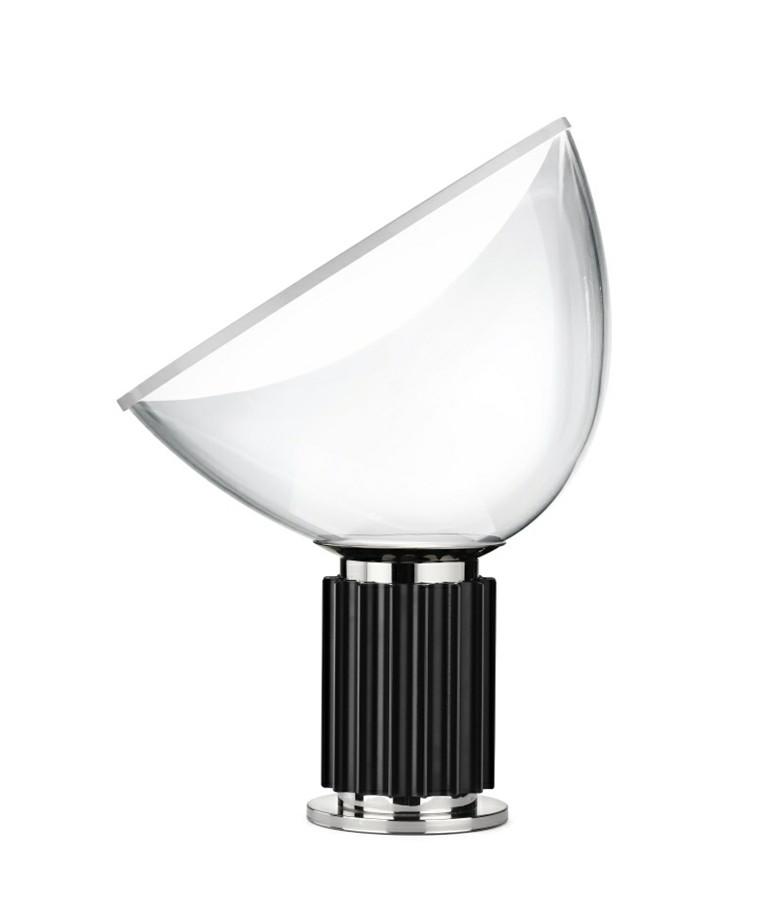 Taccia Glas Bordlampe Sort - Flos