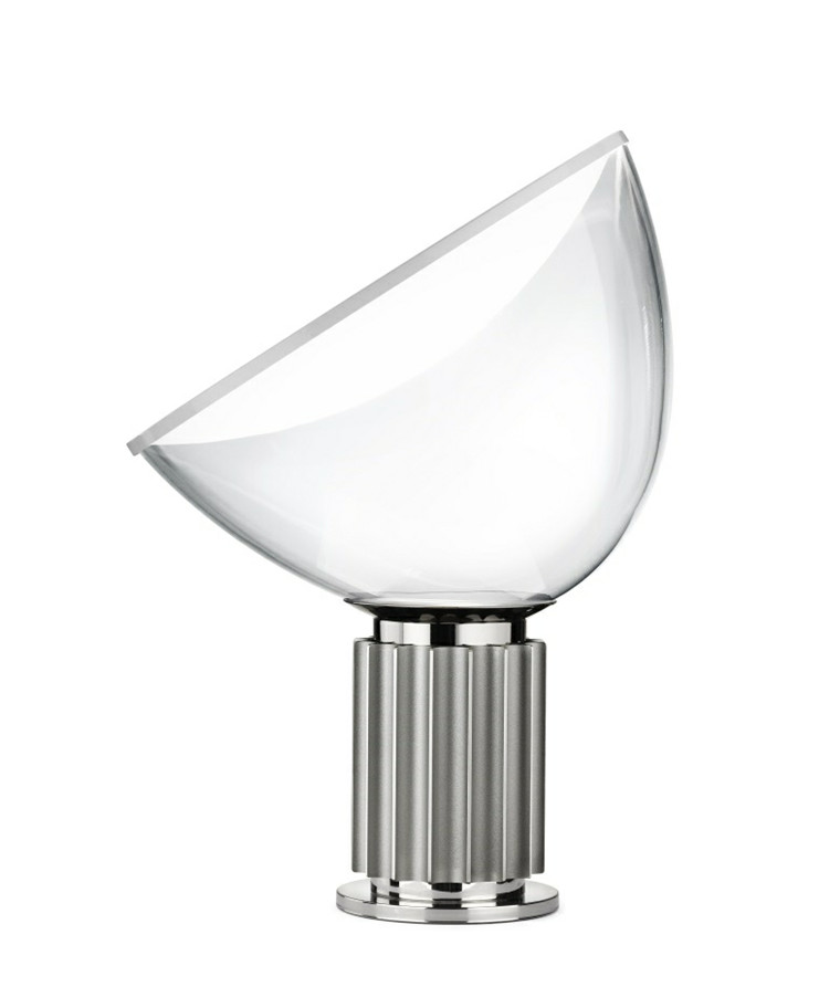 Taccia (PMMA) Bordslampa Silver - Flos