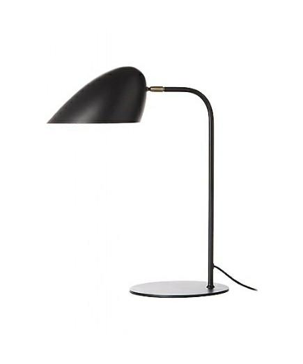 Hitchcock Bordlampe Mat Sort/Messing - Frandsen