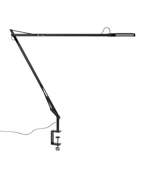Kelvin LED Bordlampe m/Klemme Sort - Flos