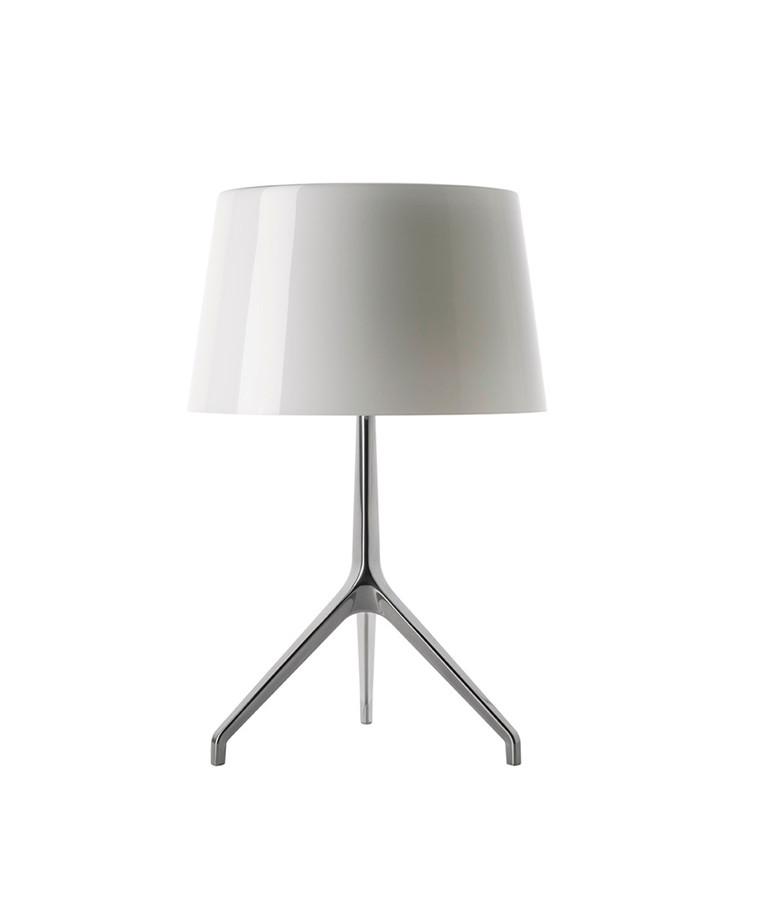 Lumiere XXL Bordlampe Alu/Hvid - Fosccarini