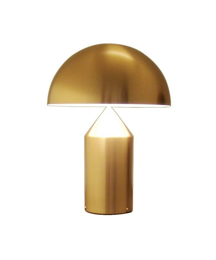 Atollo Bordlampe Medium Guld - Oluce