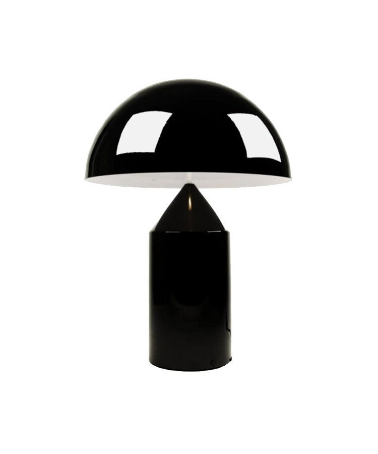 Atollo Bordlampe Small Sort - Oluce