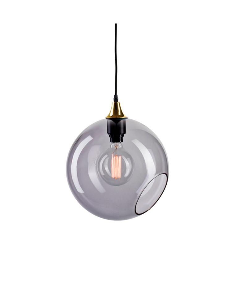 Ballroom XL Taklampa Smoke m/Guld Sockel - Design By Us