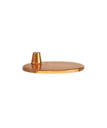 DesignMichele De Lucchi & Giancarlo Fassina for Artemide  Koncept Bordlampefod som passer til Tolomeo Micro Bordlampe i bronze.