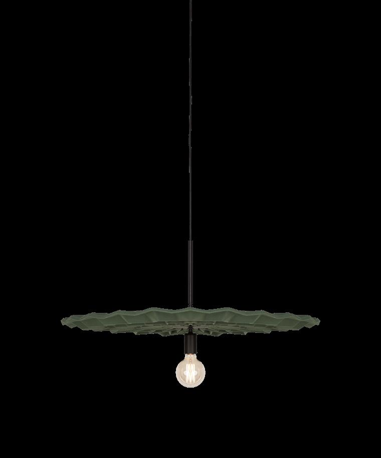 Fold Taklampa Grön - Northern