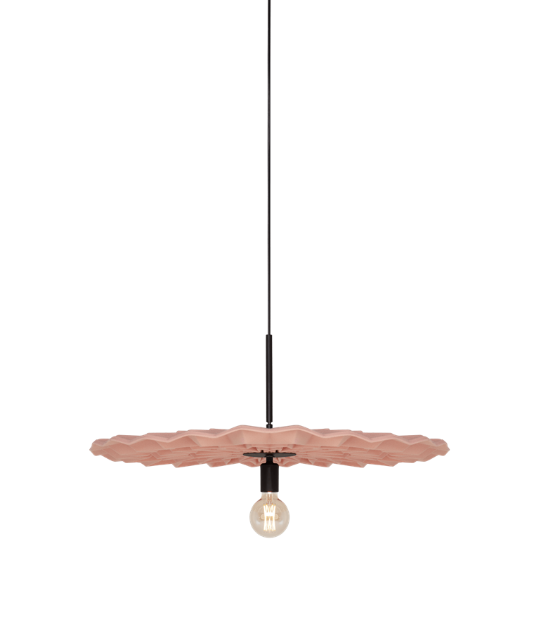 Fold Taklampa Pink - Northern