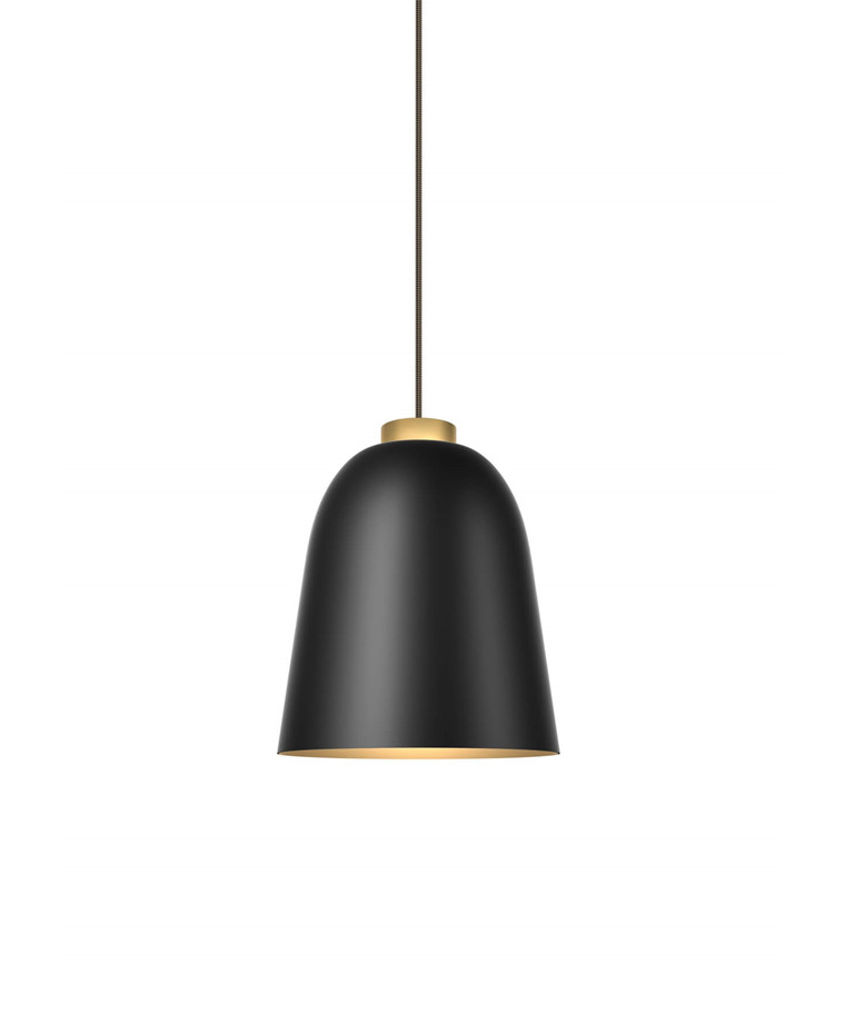 Summera Taklampa Medium Mat Svart/Gold - Shapes