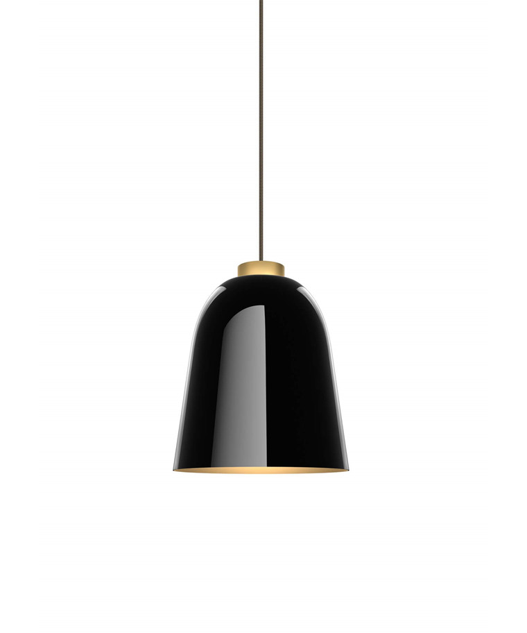 Summera Taklampa Medium Blank Svart/Gold - Shapes