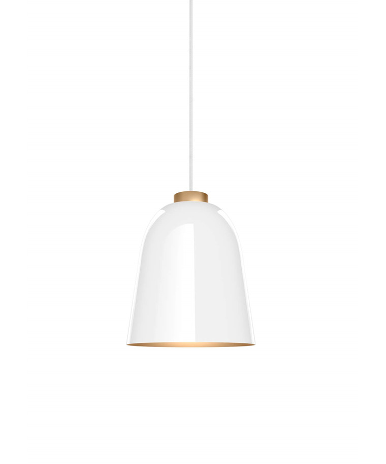 Summera Taklampa Medium Blank Vit/Gold - Shapes
