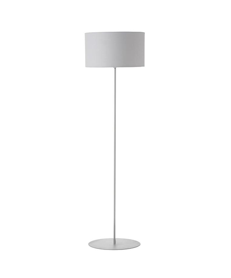 Cylinder Gulvlampe Hvid - Frandsen