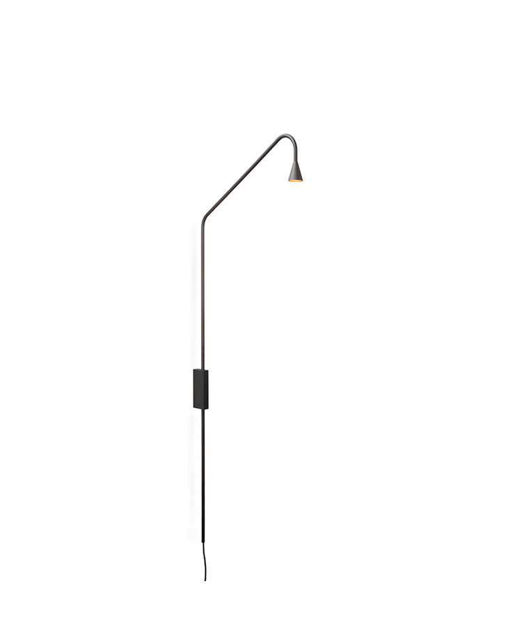 Austere W Vägglampa Gunmetal - Trizo21