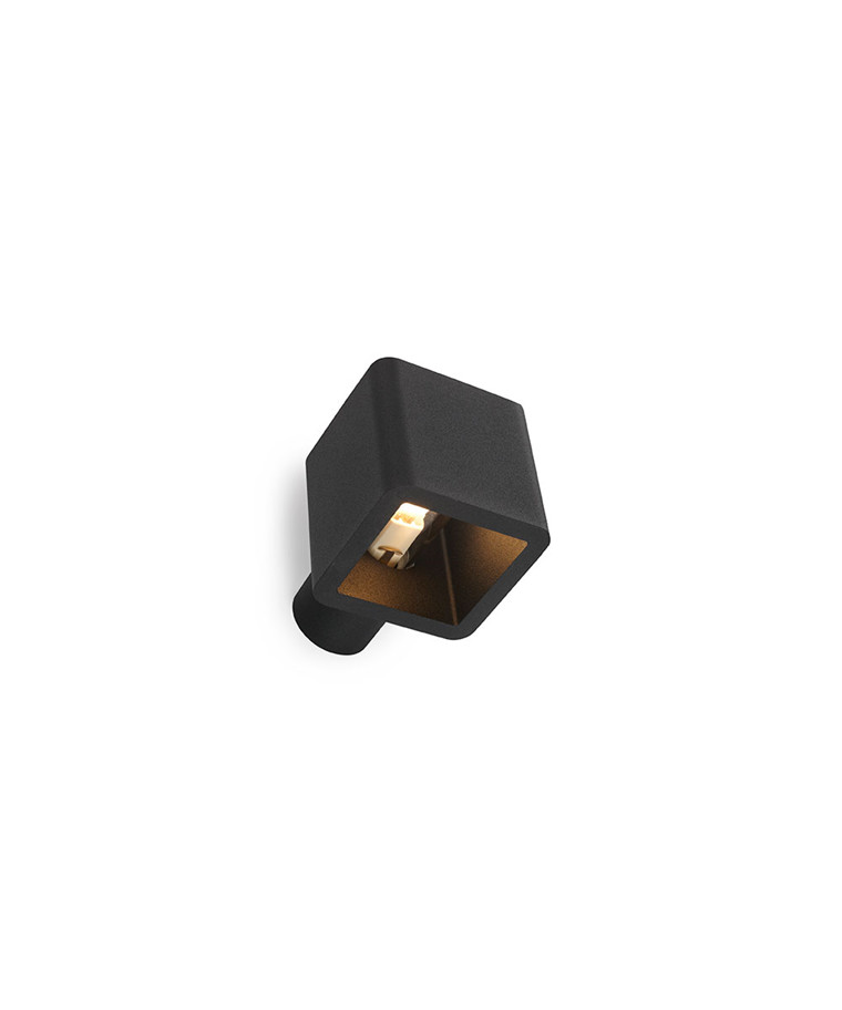Code Wall Out Vegglampe (IP55) Svart - Trizo21