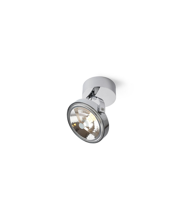 Pin-Up 1 Round Taklampe Krom - Trizo21