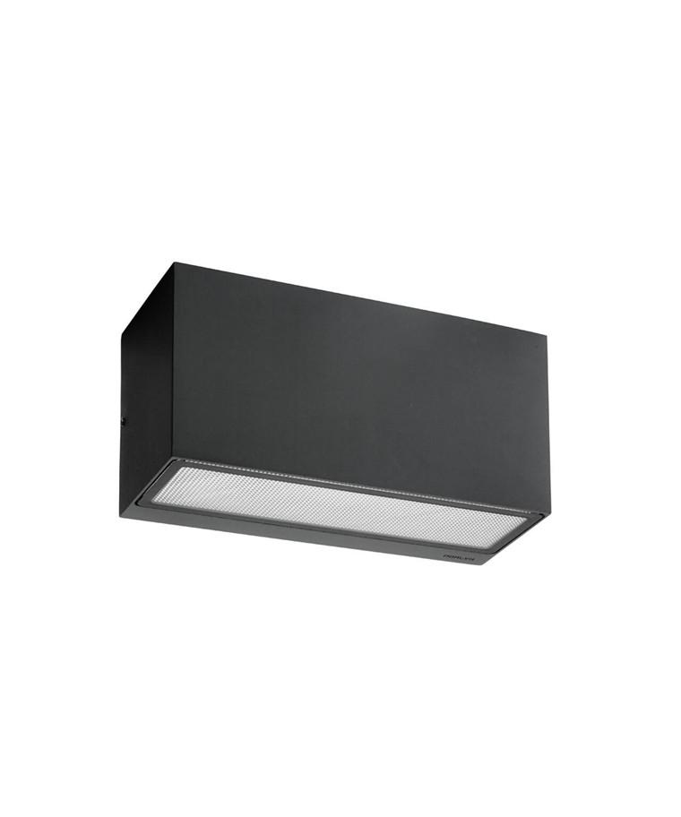 Asker LED Utendørs Vegglampe Grafitt - Norlys