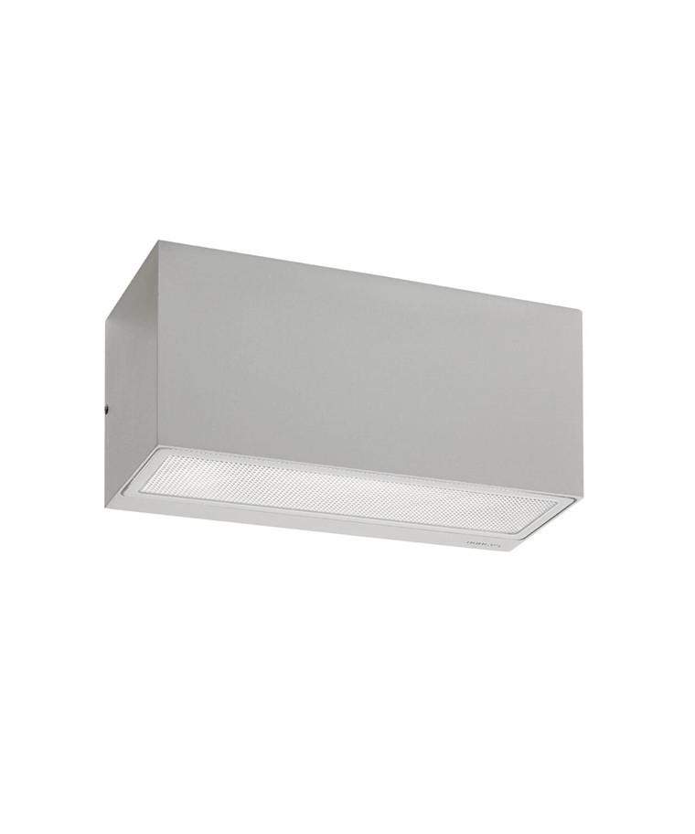 Asker E27 Utendørs Vegglampe Alu - Norlys