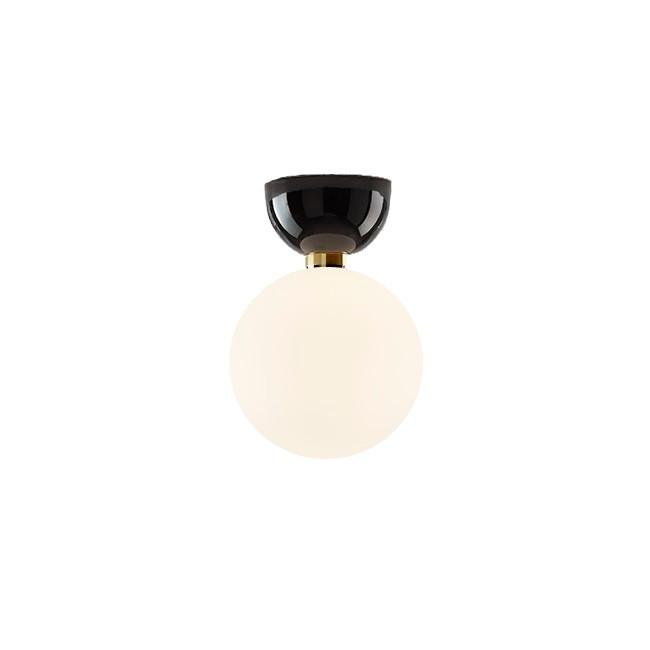 Aballs A II Me Vägglampa/Plafond Svart - Parachilna