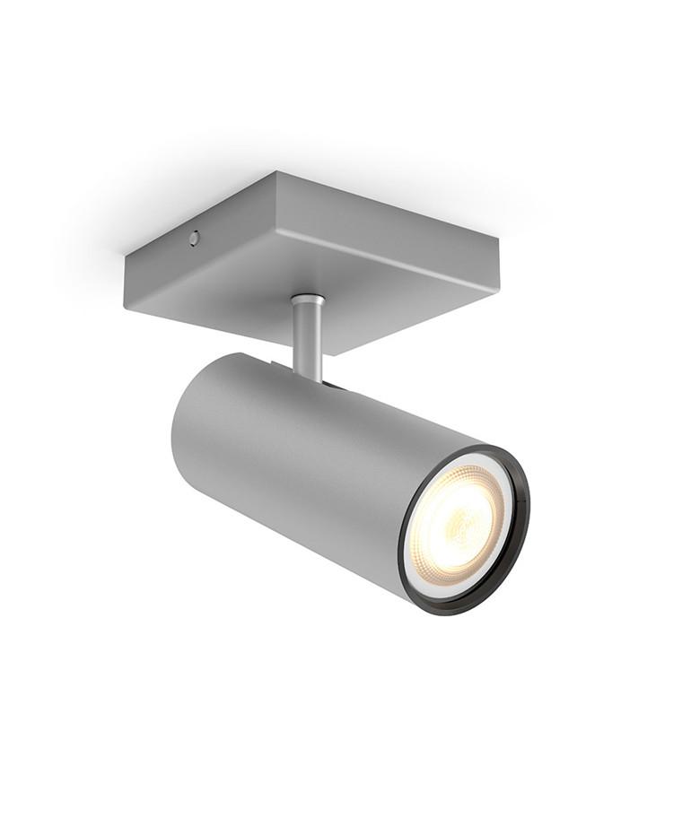 Buratto Loftlampe Single Spot Alu - Philips Hue