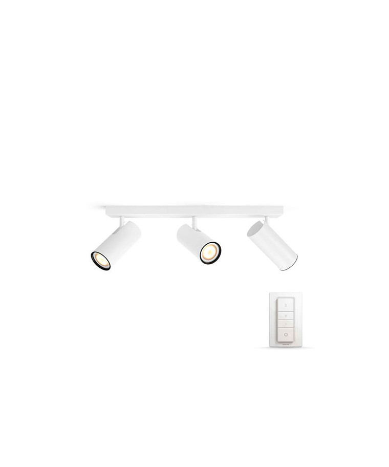Buratto Loftlampe Bar/Tube Hvid - Philips Hue