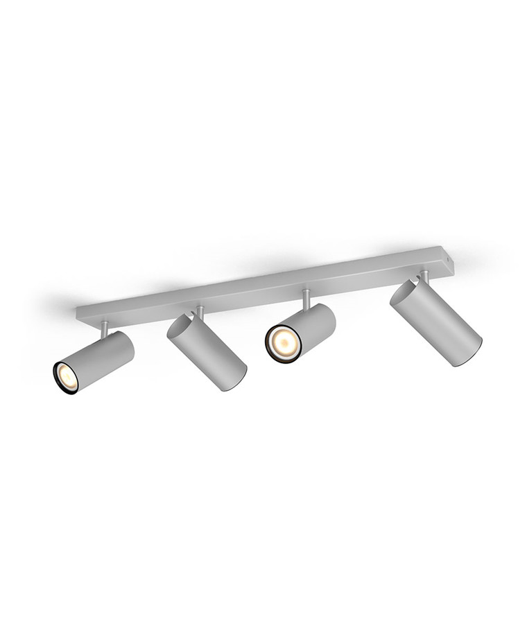 Buratto Loftlampe 4xBar/Tube Alu - Philips Hue