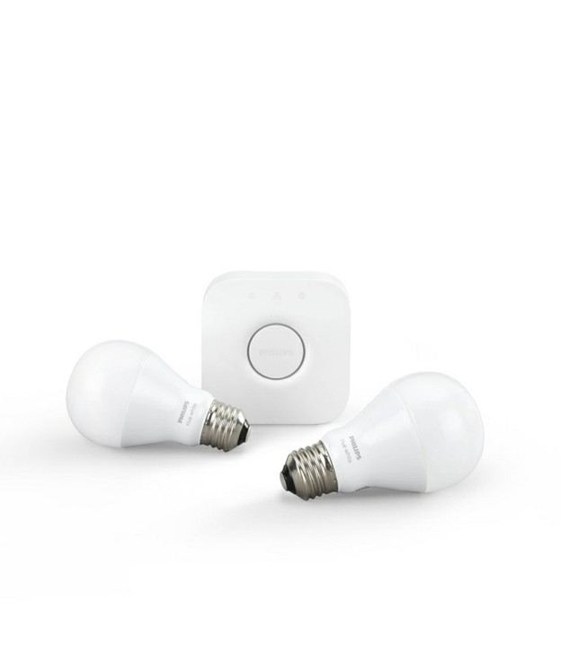 Philips Hue White 9,5W Starter Kit m/Bridge