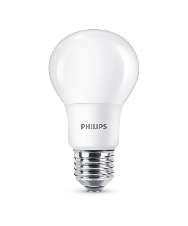Päronlampa LED 8W Plast (470lm) E27 - Philips