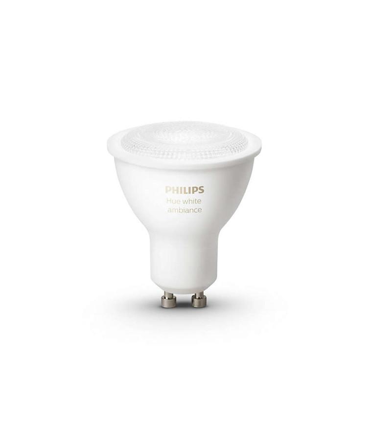 Philips Hue Ambiance 5.5W GU10 Päronlampa