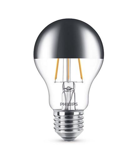 Päronlampa LED 3,5W Filament Toppreflektor (370lm) E27 - Philips