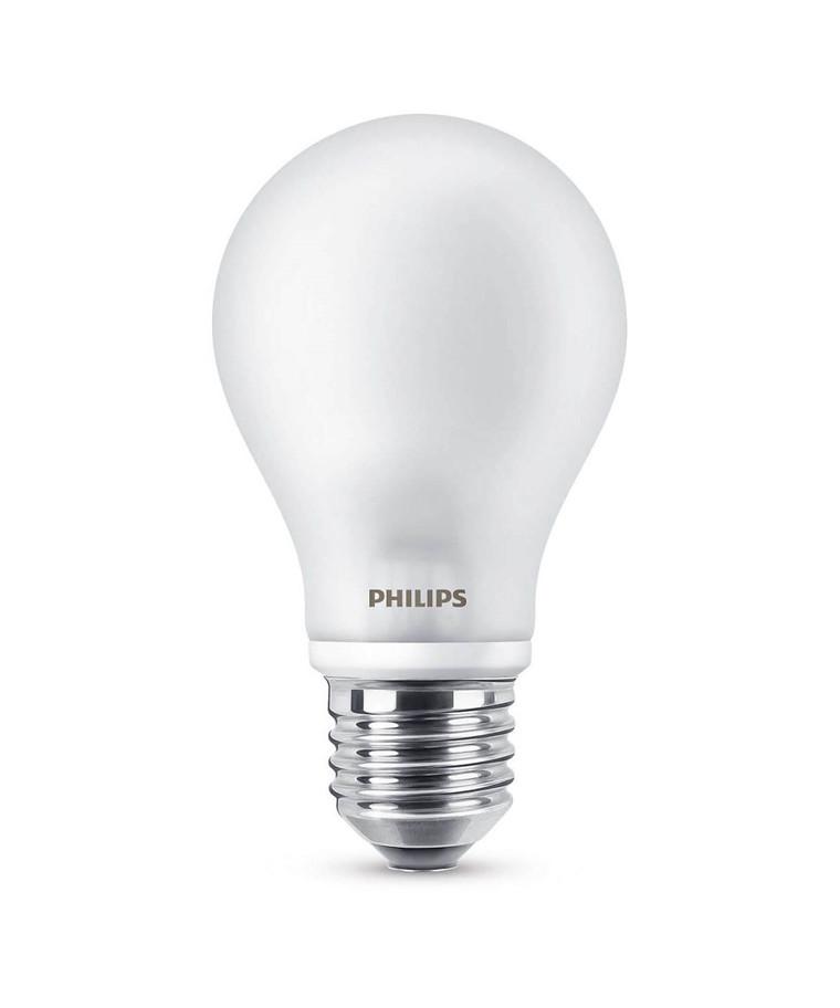 Päronlampa LED 8W Glas (1055lm) E27 - Philips