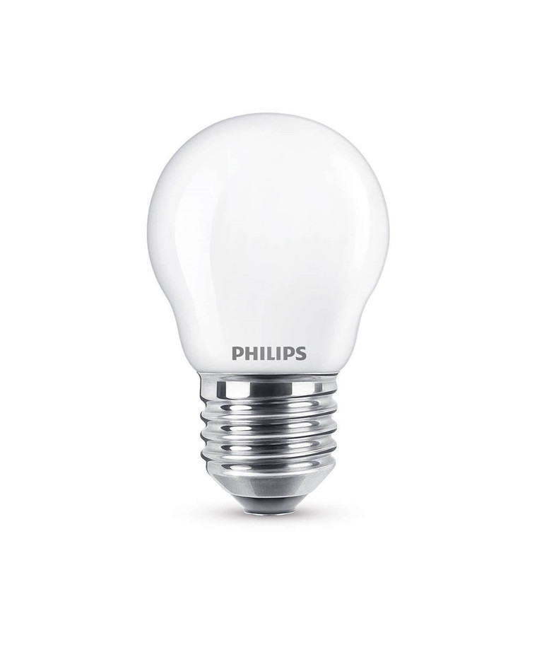 Päronlampa LED 2,2W Glas Klot (250lm) E27 - Philips