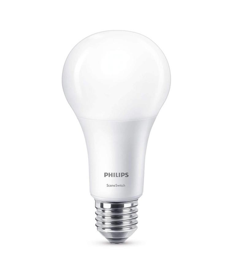 Päronlampa LED 3,5-7-14W Sceneswitch (150/600/1521lm) E27 - Philips
