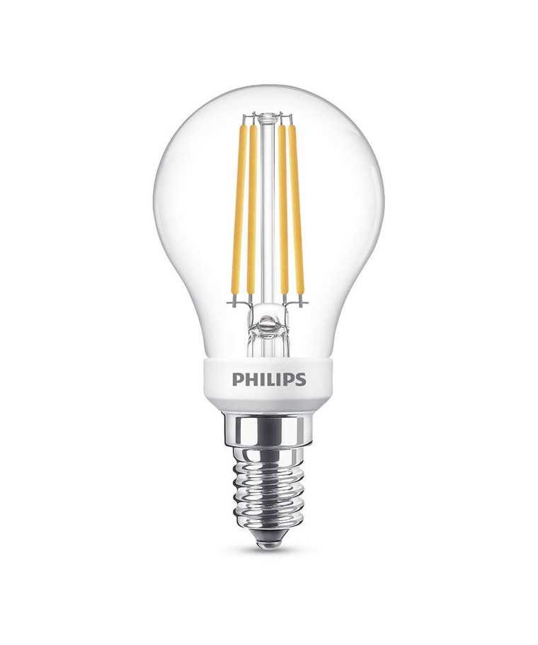 Leuchtmittel LED 5W Glas Tropfen (470lm) Dimmbar E14 - Philips