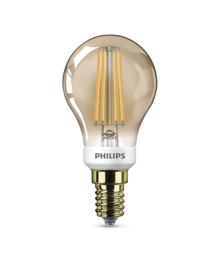 Päronlampa LED 3W Classic Klot (410lm) Dimbar E14 - Philips