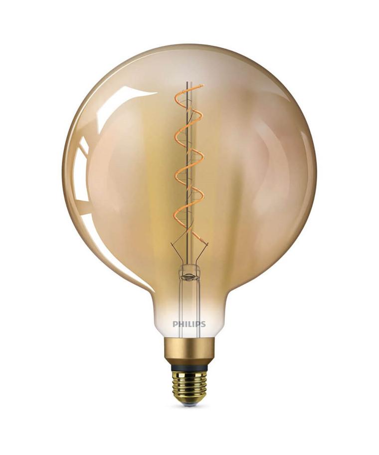 Leuchtmittel LED 5W Classic Globe (300lm) Ø200 E27 - Philips